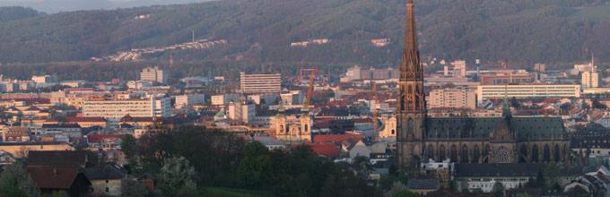 Linz vom Freinberg