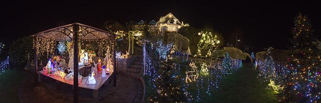 Weihnachten im Glitzerhaus